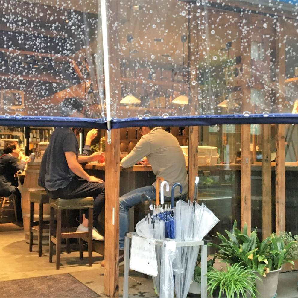enjoy the rain@bar
