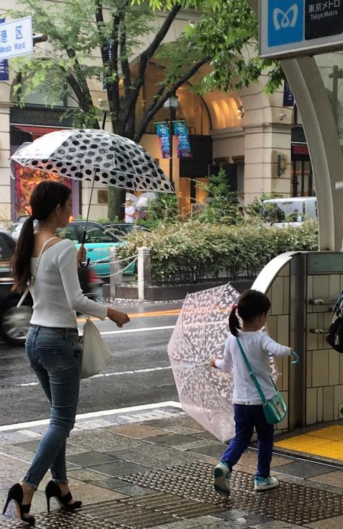 walking with mum@omotesando