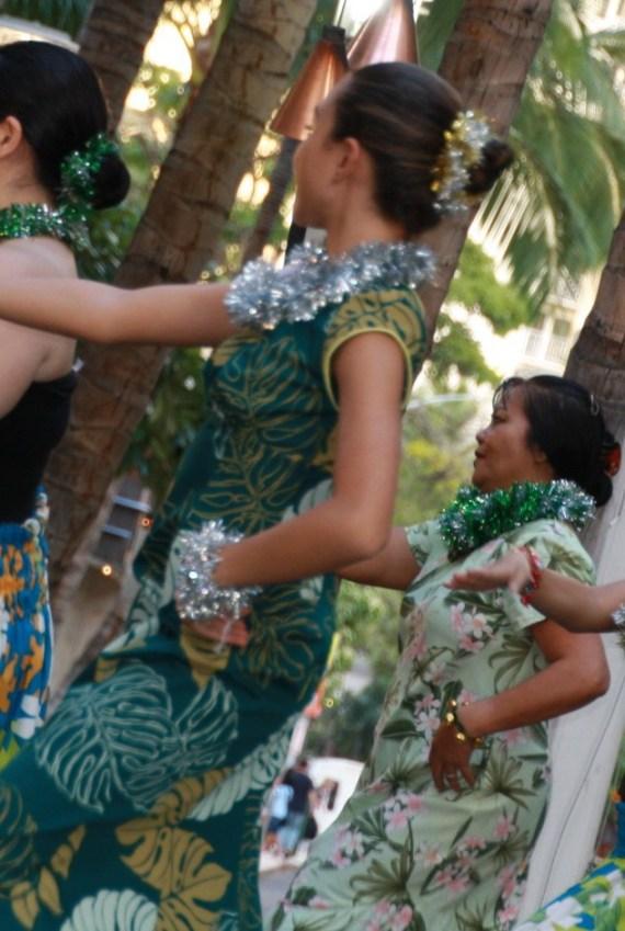 hula-dancing