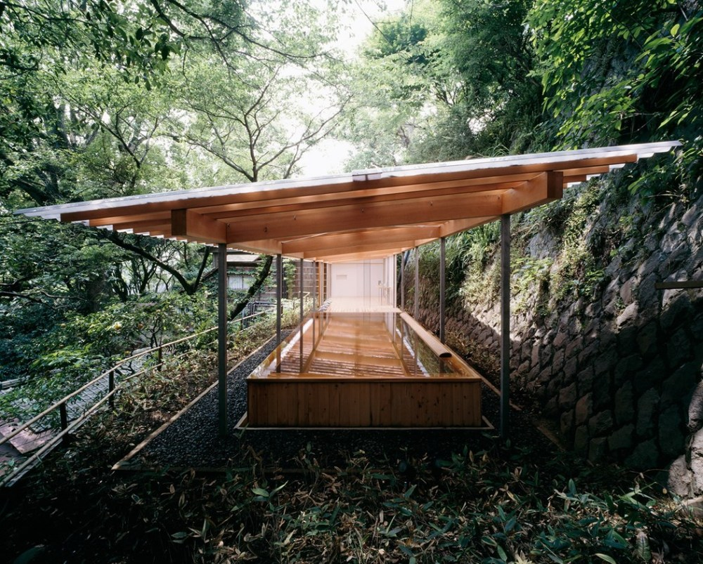 Kengo Kuma, Kogohi Bathouse, Horai Onsen Atami